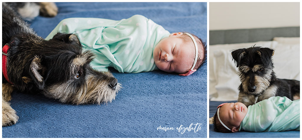 """I get asked """"What should our newborn wear in pictures?""""Here are a couple practical tips on how to dress your newborn for pictures plus my #1 tip you'd probably never think of. 