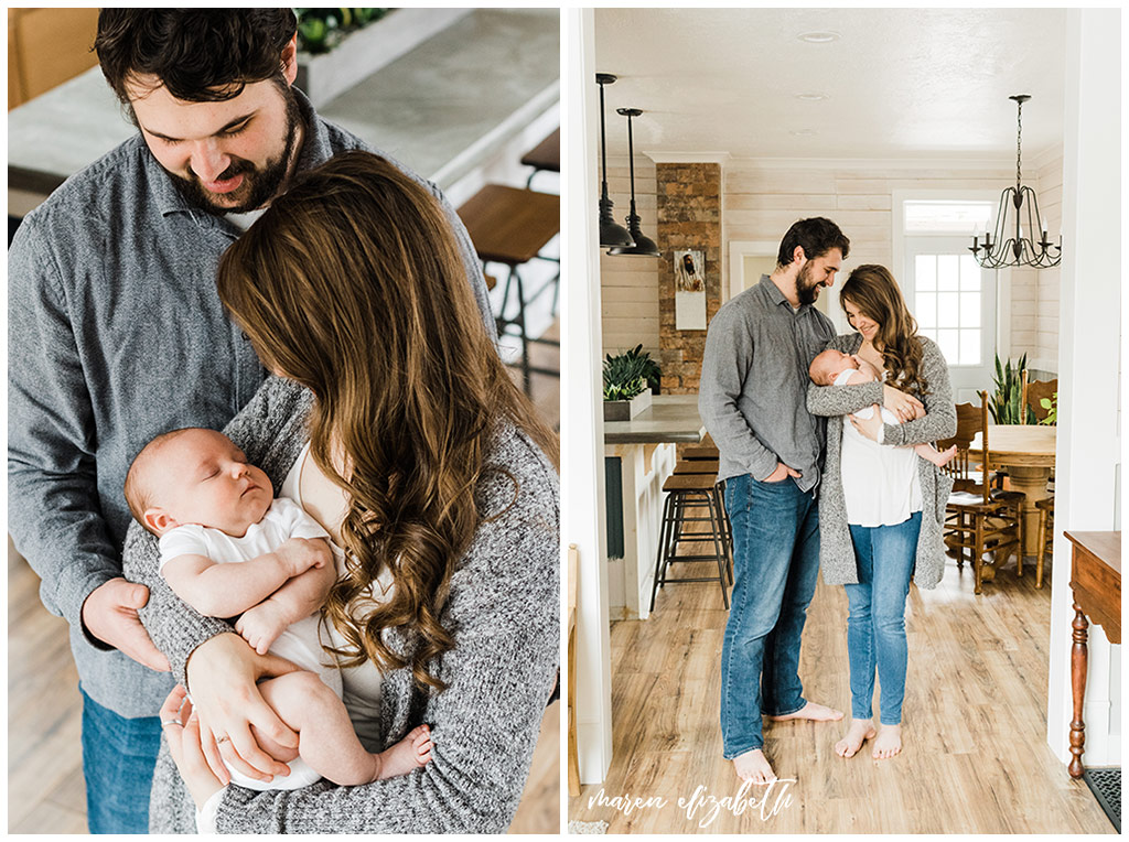 Ogden newborn pictures in a 1897 fixer upper document a special chapter in this family's life. Utah Newborn Photographer.