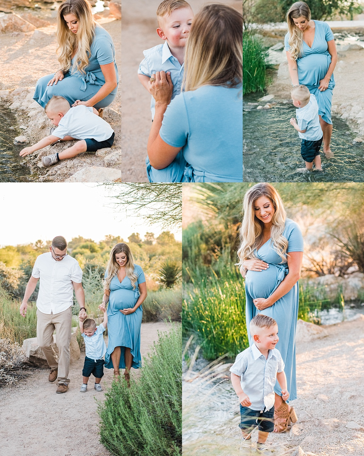 Riparian Preserve Family Pictures   Gilbert Family Photographer