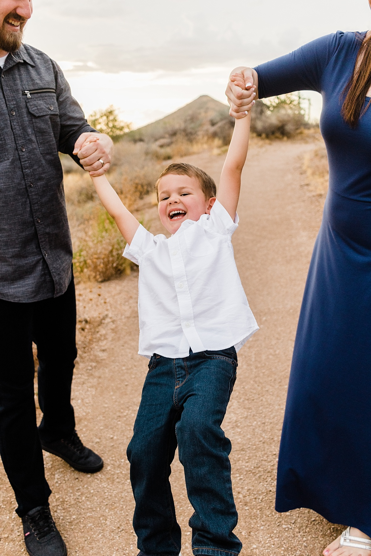 McDowell Sonoran Preserve Family Pictures | East Valley Photographer