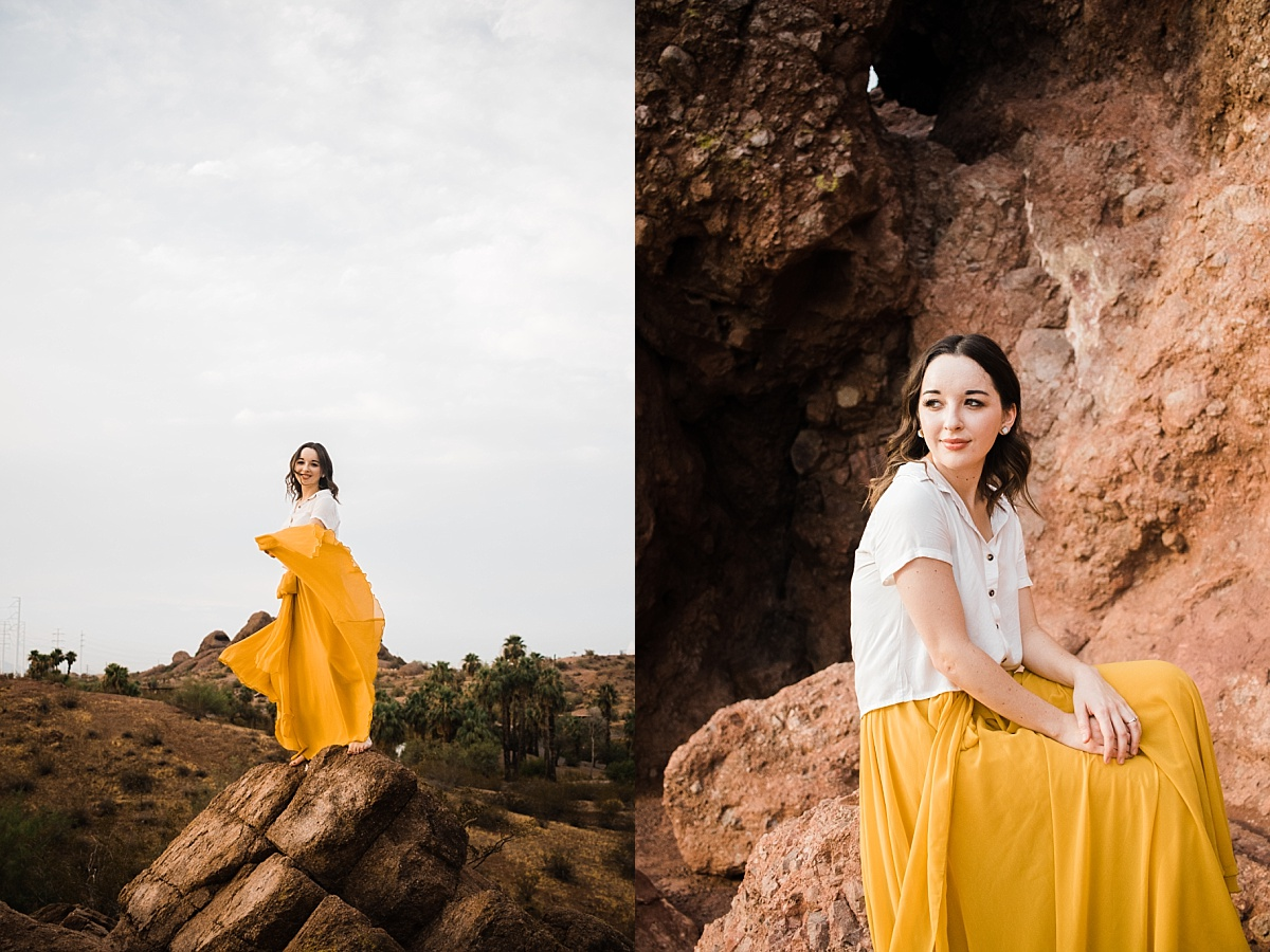 Pictures at Papago Park | Hole in the Rock | East Valley Photographer