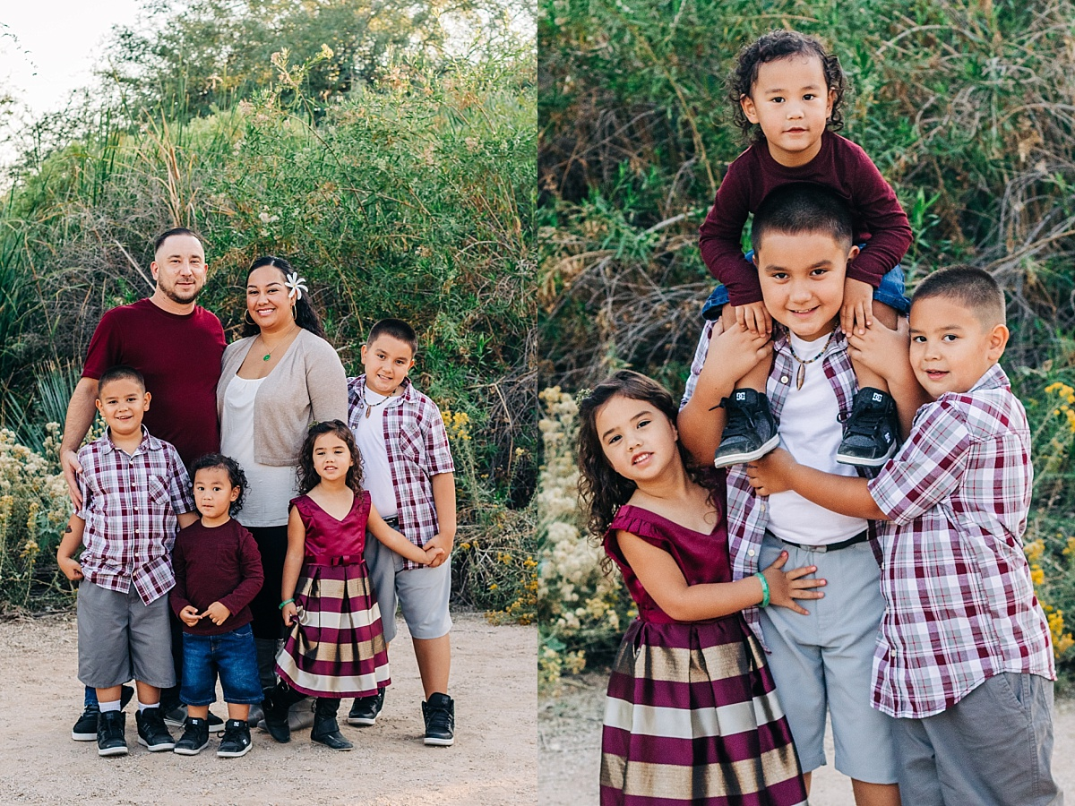 Gilbert Extended Family Pictures | Riparian Preserve at Water Ranch