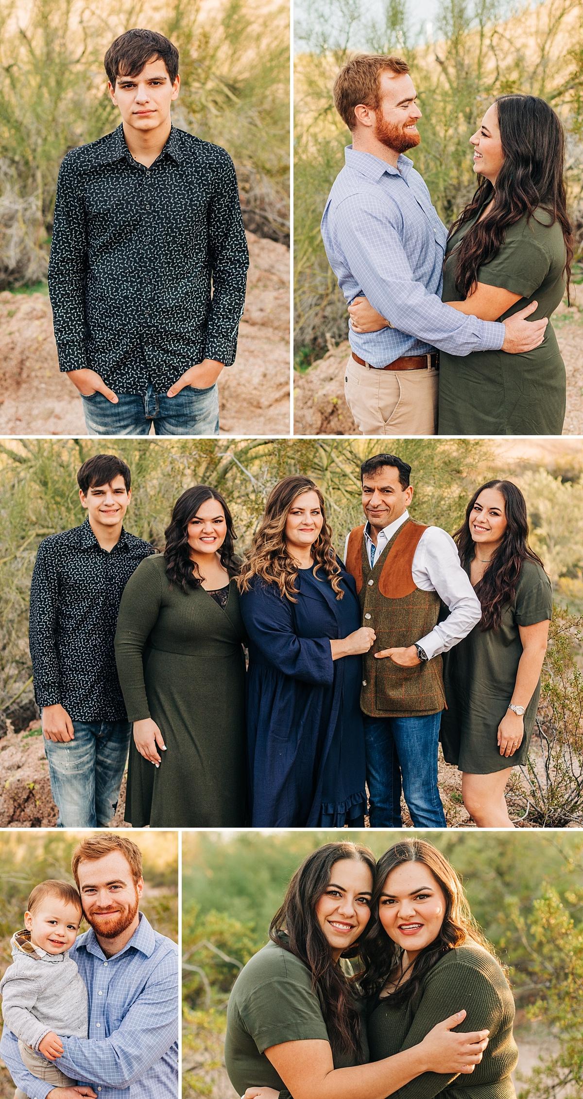 Family Pictures at Papago Park | Arizona Family Photographer