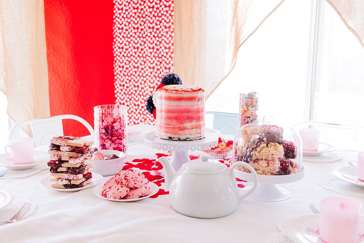 DIY Valentine's Day Tea Party