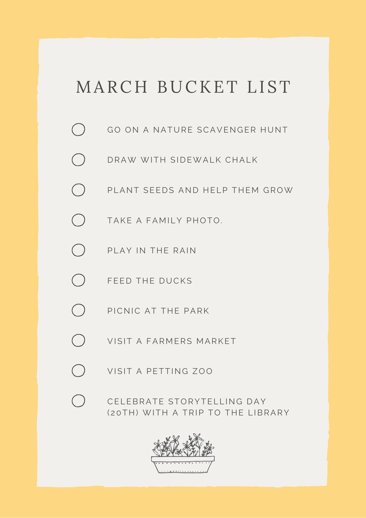 March Bucket List 2020 | Arizona Photographer