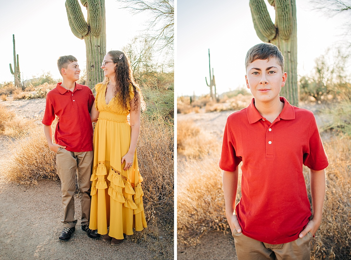 Arizona Desert Family Pictures | Usery Mountain Regional Park