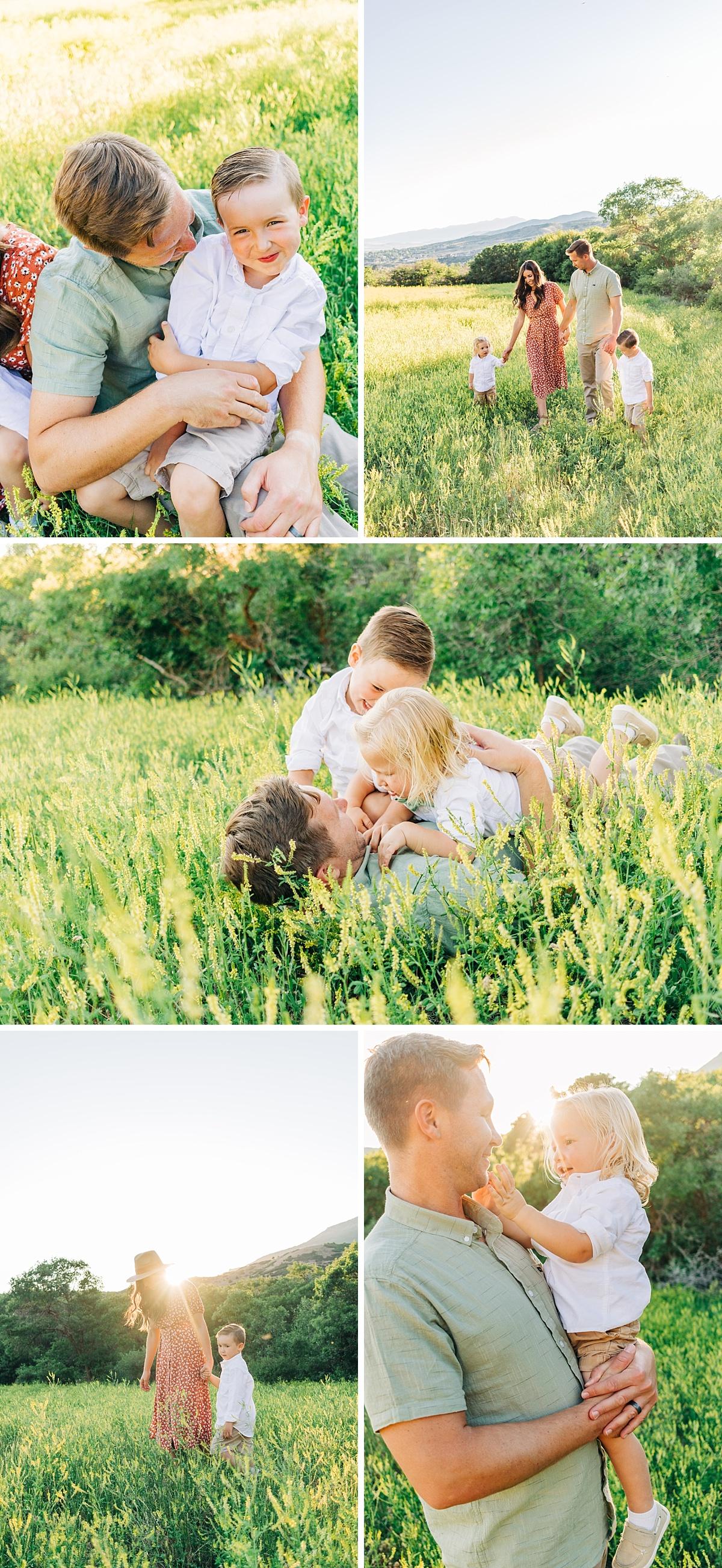UTAH SUMMER FAMILY PICTURES | UTAH FAMILY PHOTOGRAPHER